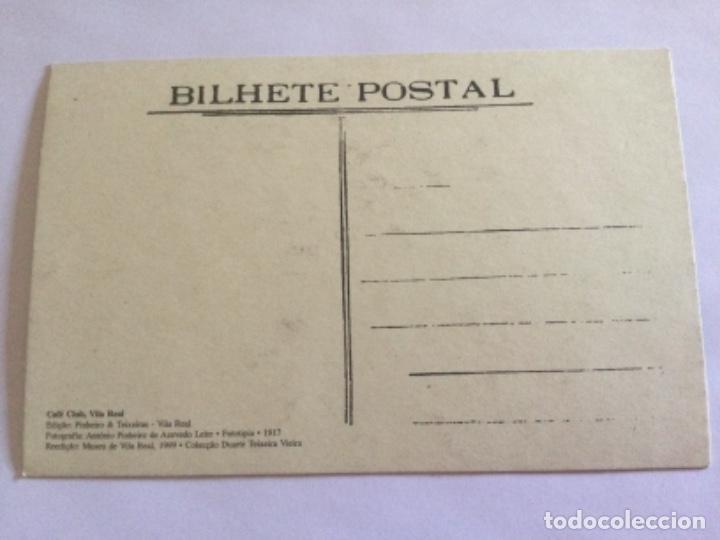 Postales: Postal Café Club Vila Real en 1917 - Foto 2 - 232285415