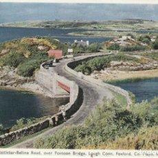 Postales: POSTAL THE CASTLEBAR - BALLINA ROAD (IRLANDA). Lote 233516585