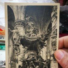 Postales: POSTAL BRUXELLES CHAIRE DE VERITE DE L'EGLISE STE GUDULE S/C. Lote 233989775
