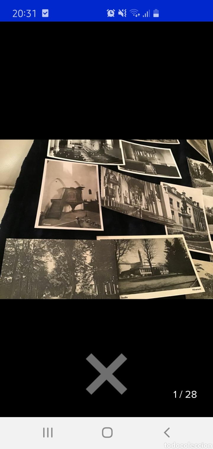 Postales: Colección de 550 postales holandesas y países bajos años 1900 a 1936 - Foto 30 - 234013090