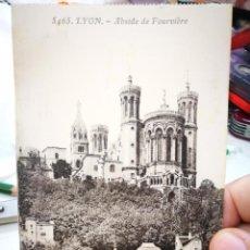 Postales: POSTAL LYON ÁBSIDE DE FOURVIERE S/C. Lote 234477515