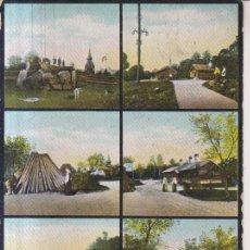 Postales: SUECIA SKANSEN VISTAS VARIAS 1910 POSTAL CIRCULADA. Lote 234544435