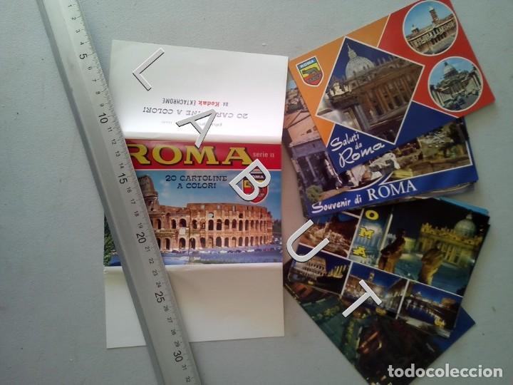 20 ROMA POSTALES SERIE II CM0 (Postales - Postales Extranjero - Europa)
