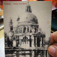 Postales: POSTAL VENEZIA CHIESA DELLA SALUTE S/C. Lote 234929890