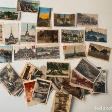 Postales: 86 POSTALES DE FRANCIA , ANTIGUAS. Lote 235035200