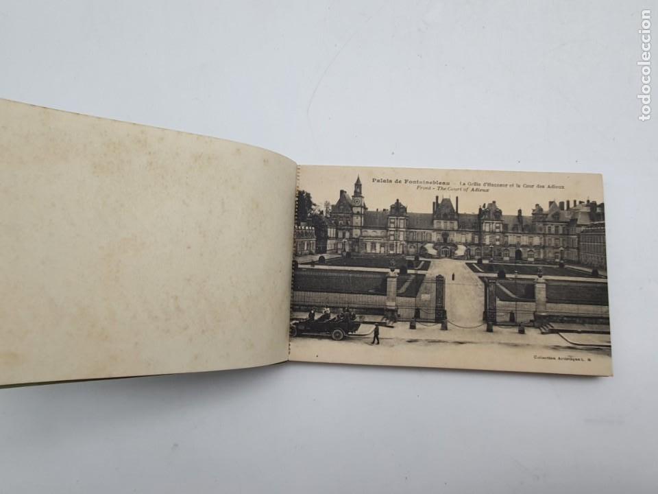 Postales: LOTE POSTALES PALAIS DE FONTAINEBLEAU ( AÑOS 30/40 ) COMPLETO - Foto 3 - 235085130