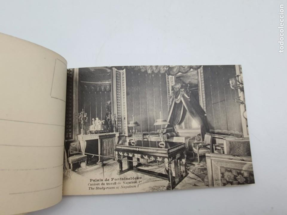 Postales: LOTE POSTALES PALAIS DE FONTAINEBLEAU ( AÑOS 30/40 ) COMPLETO - Foto 5 - 235085130