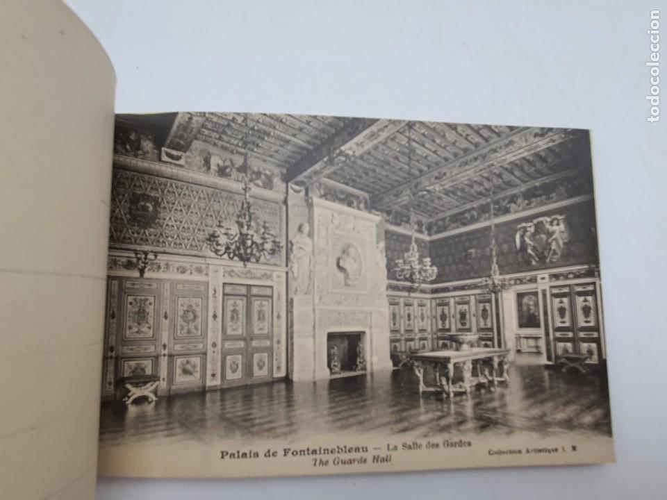 Postales: LOTE POSTALES PALAIS DE FONTAINEBLEAU ( AÑOS 30/40 ) COMPLETO - Foto 7 - 235085130