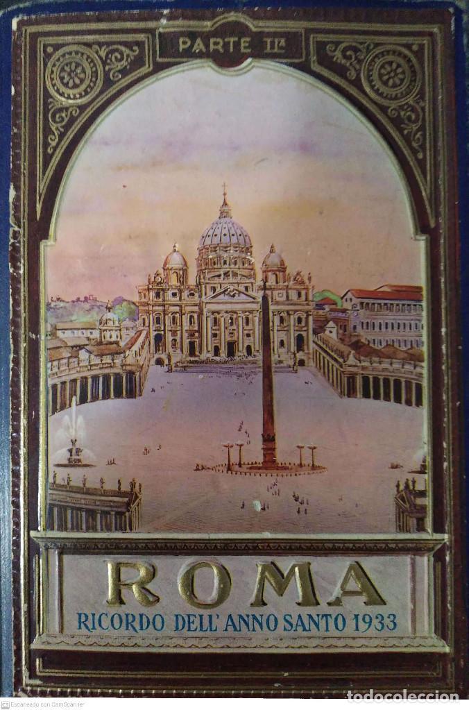 BLOC DE POSTALES ROMA RECUERDO DEL AÑO SANTO 1933 PARTE IIª (Postales - Postales Extranjero - Europa)