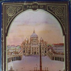 Postales: BLOC DE POSTALES ROMA RECUERDO DEL AÑO SANTO 1933 PARTE IIª. Lote 235732890