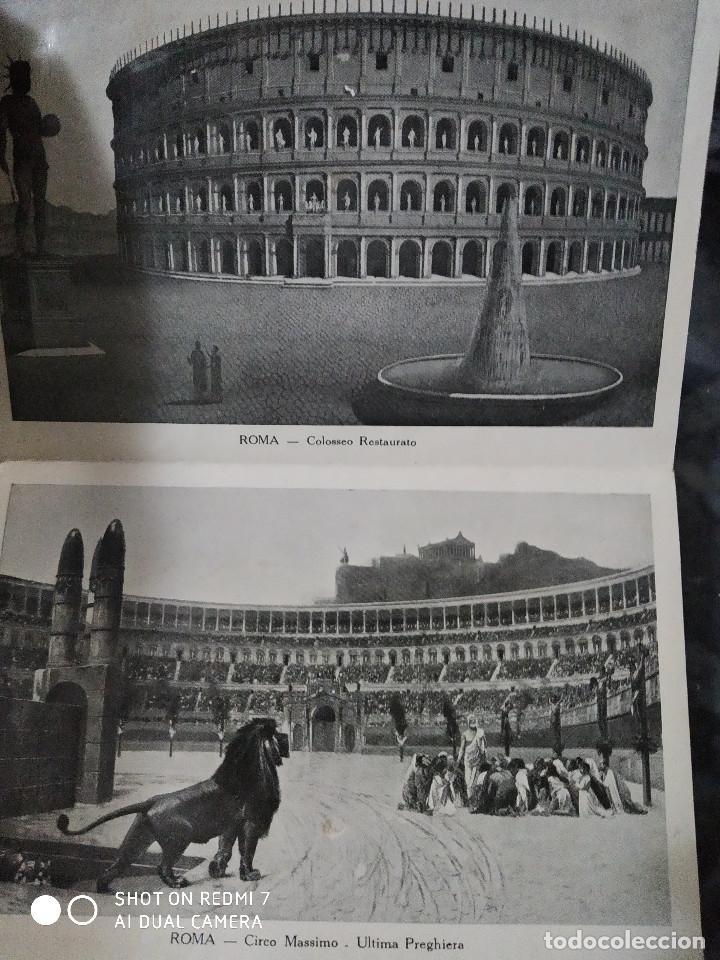 Postales: Bloc de postales ROMA recuerdo del AÑO SANTO 1933 PARTE IIª - Foto 2 - 235732890