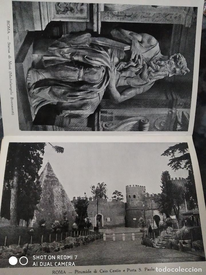 Postales: Bloc de postales ROMA recuerdo del AÑO SANTO 1933 PARTE IIª - Foto 3 - 235732890
