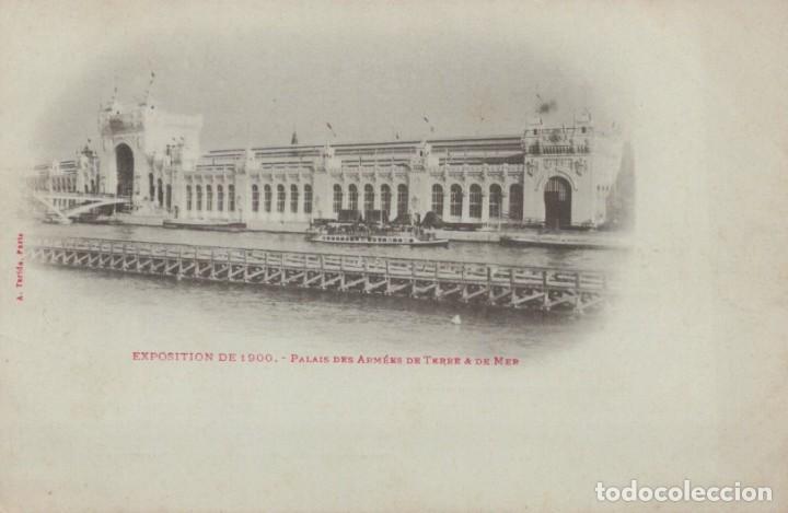 POSTAL PARIS - EXPOSITION DE 1900 - PALAIS DES ARMEES DE TERRE & DE MER (Postales - Postales Extranjero - Europa)
