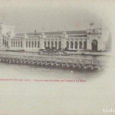Postales: POSTAL PARIS - EXPOSITION DE 1900 - PALAIS DES ARMEES DE TERRE & DE MER. Lote 235936220
