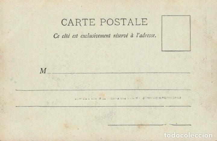 Postales: POSTAL PARIS - EXPOSITION DE 1900 - PALAIS DES ARMEES DE TERRE & DE MER - Foto 2 - 235936220