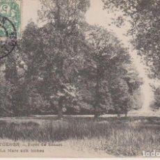 Postales: FRANCIA MONTGERON BOSQUE DE SENART 1907 POSTAL CIRCULADA. Lote 236225440