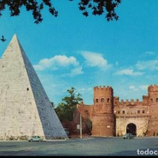 Postales: LA PIRÁMIDE CESTIA. ROMA. ITALIA. / POSTAL SIN CIRCULAR. Lote 237034640