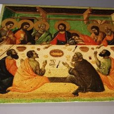 Postales: POSTAL DUCCIO DI BONINSEGNA (1255-1318) EDIZIONE I.F.I. FIRENZE AÑO 1982 CIRCULADA. Lote 237469620