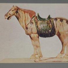 Postales: POSTAL VICTORIA AND ALBERT MUSEUM FIGURA DE CABALLO. Lote 237485060
