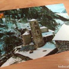 Postales: POSTAL DE ANDORRA. SANT JOAN DE CASELLES. A COLOR, SIN CIRCULAR. Lote 237854330