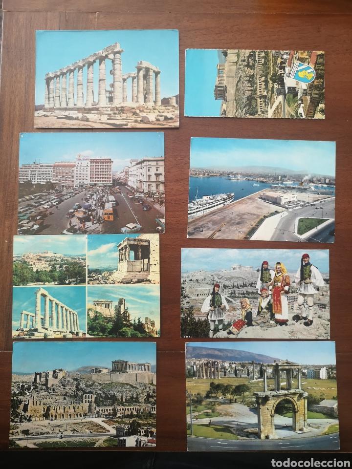 8 POSTALES GRECIA FINALES 60 (Postales - Postales Extranjero - Europa)