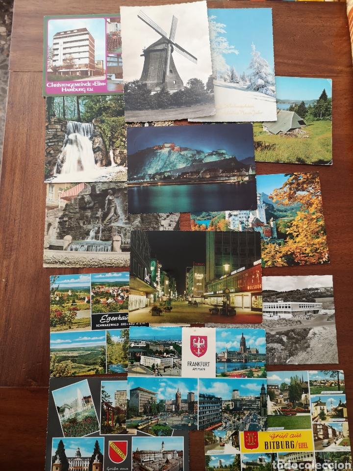 14 POSTALES ALEMANIA. AÑOS 60-70 (Postales - Postales Extranjero - Europa)