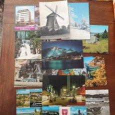 Postales: 14 POSTALES ALEMANIA. AÑOS 60-70. Lote 238411470
