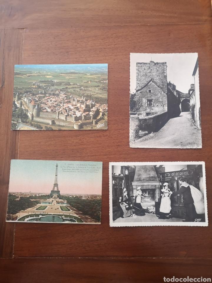 Postales: 29 Postales 60-70 Francia. B/N y Color - Foto 3 - 238414130