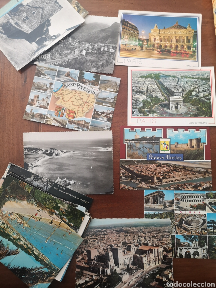 29 POSTALES 60-70 FRANCIA. B/N Y COLOR (Postales - Postales Extranjero - Europa)
