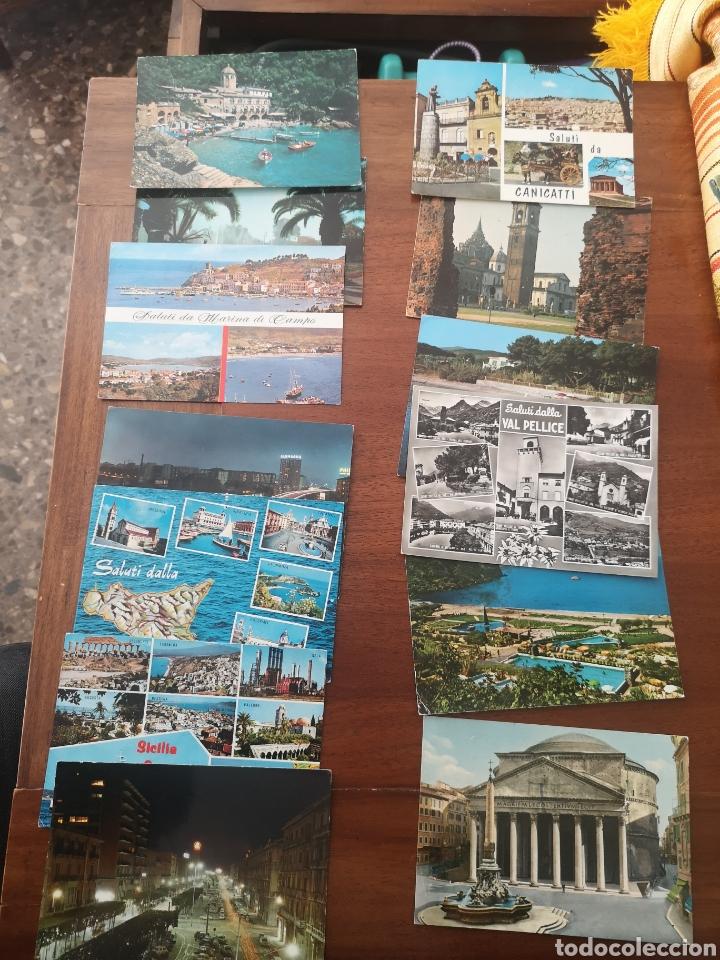 Postales: 25 Postales Italia años 60/70 - Foto 2 - 238414800