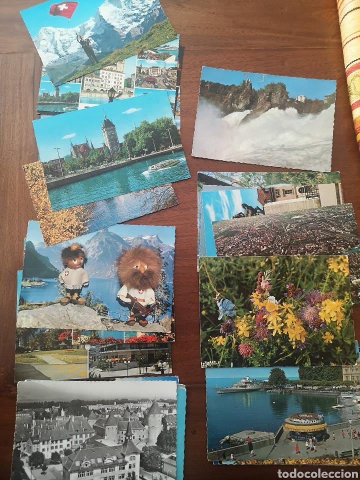 29 POSTALES SUIZA AÑOS 60 (Postales - Postales Extranjero - Europa)
