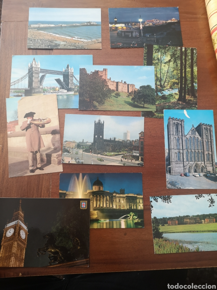 Postales: 46 postales Gran Bretaña años 60/80 - Foto 3 - 238416485