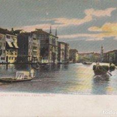 Postales: POSTAL VENEZIA - PALAZZO TIEPOLO SUL CANAL GRANDE - E L SERIE 850 - CIRCULADA. Lote 240388225