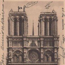 Postales: POSTAL PARIS - LA CATHEDRALE NOTRE DAME. Lote 240406805