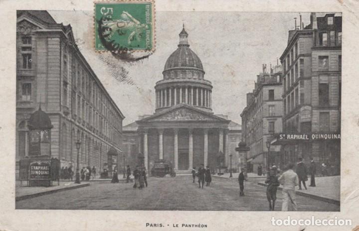 POSTAL PARIS - LE PANTHEON (Postales - Postales Extranjero - Europa)