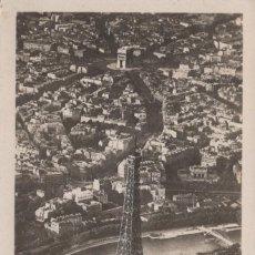 Postales: POSTAL PARIS - LA TOUR EIFFEL - PERSPECTIVE - AERO PHOTO 160. Lote 240636365