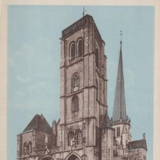 Postales: POSTAL AUXONNE - COTE D'OR - CATHEDRALE - ND. Lote 240637820