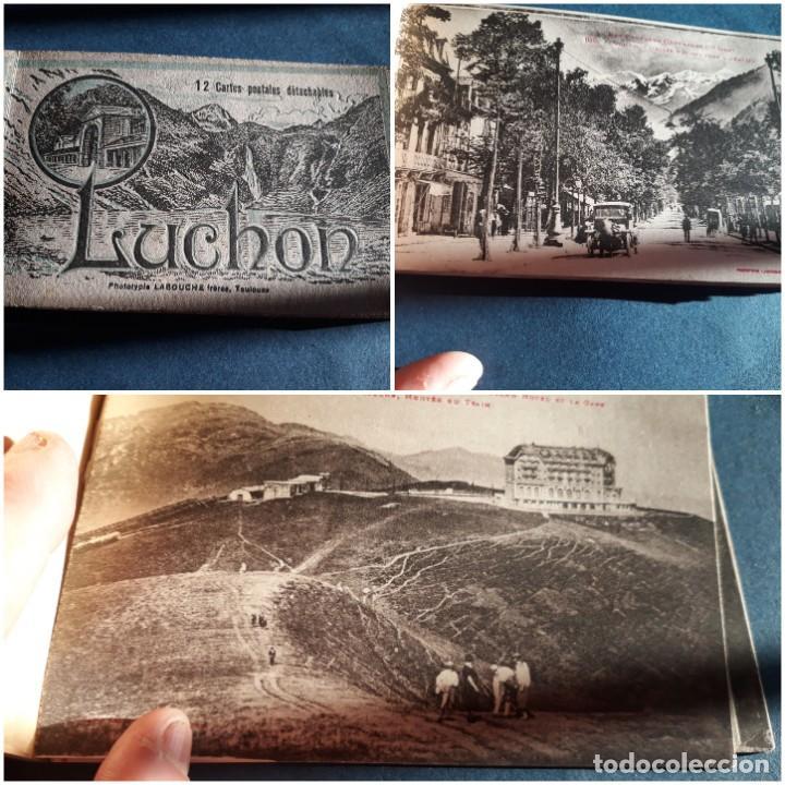 ALBUM 12 POSTALES ANTIGUAS LUCHON PHOTOTYPIE LABOUCHE FRÊRES TOULOUSE (Postales - Postales Extranjero - Europa)