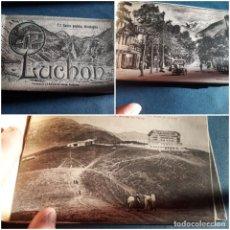 Postales: ALBUM 12 POSTALES ANTIGUAS LUCHON PHOTOTYPIE LABOUCHE FRÊRES TOULOUSE. Lote 240665180