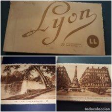Postales: ALBUM 20 POSTALES ANTIGUAS LYON. Lote 240669865