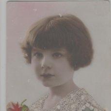 Cartes Postales: LOTE B-POSTAL ROMANTICA BORDADA A MANO. Lote 241086620