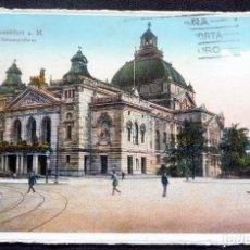 Postales: POSTAL - FRANKFURT - AÑO 1928 - ESCRITA CON SELLOS. Lote 242155060