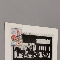 Postales: TARJETA POSTAL COLLECTION MUSEE POSTAL FRANCE. Lote 242854925