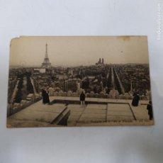 Postales: POSTAL PARIS PANORAMICA DESDE EL ARCO DEL TRIUNFO (947/21). Lote 243808395