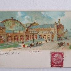 Postales: ALEMANIA - FRANKFURT - TIPO GRUSS - P46998. Lote 243869300