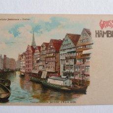 Postales: ALEMANIA - GRUSS AUS HAMBURG - P46999. Lote 243869400