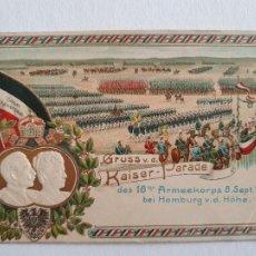 Postales: ALEMANIA - GRUSS AUS KISER PARADE HAMBURG - P47000. Lote 243869620