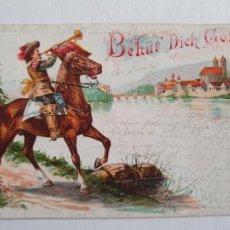 Postales: ALEMANIA - BEHÜR DICK GOTT / - TIPO GRUSS - P47001. Lote 243870265