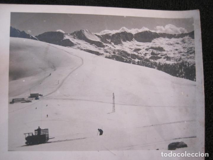 Postales: REFUGIO DE ENVALIRA-FOTOGRAFIA ANTIGUA-CIRCULADA-VER FOTOS-(K-1949) - Foto 3 - 244417515