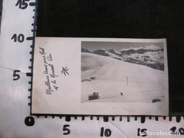 Postales: REFUGIO DE ENVALIRA-FOTOGRAFIA ANTIGUA-CIRCULADA-VER FOTOS-(K-1949) - Foto 5 - 244417515